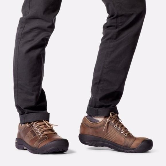 32dcfe2078c Keen Shoes | Mens Tan Austin Oxford Casual Shoe Size 8 | Poshmark